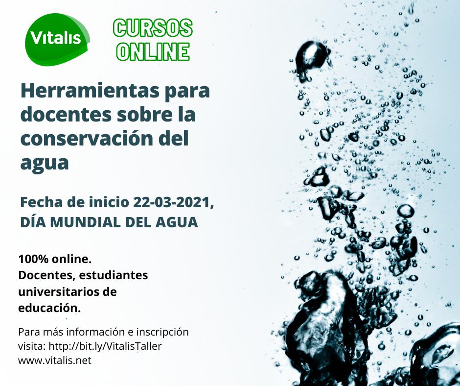 Herramientas para docentes sobre la conservación del agua - Curso Vitalis